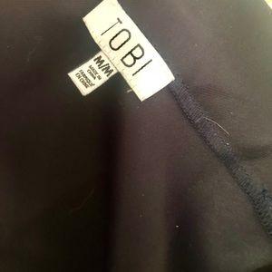 Tobi Skirts - Navy skirt